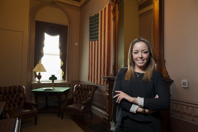 Image: Young Latinos of the Obama White House . Ximena Gonzalez.