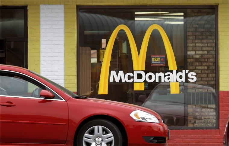 IMAGE: McDonald's drive-thru