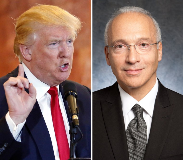 Image: Donald Trump and Judge Gonzalo Curiel
