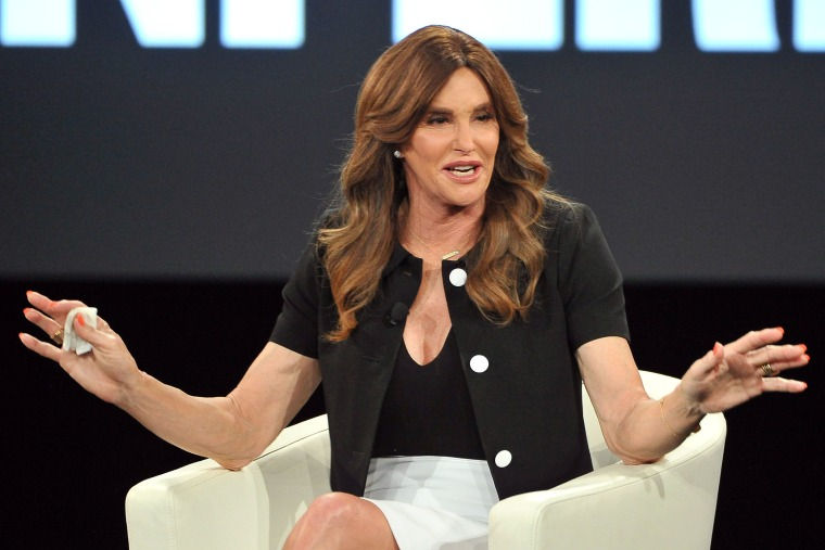 Caitlyn Jenner attends AOL MAKERS Conference at Terranea Resort on February 2, 2016 in Rancho Palos Verdes, California. (Photo by Jerod Harris/WireImage)