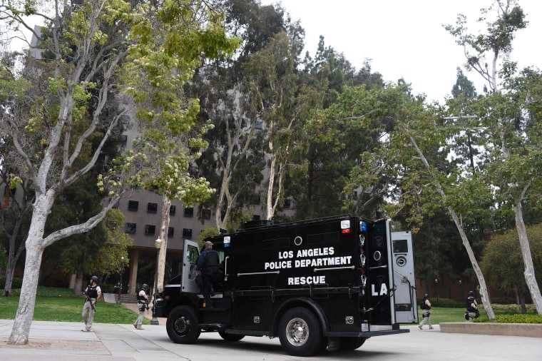 Image: US-CRIME-SHOOTING-UCLA