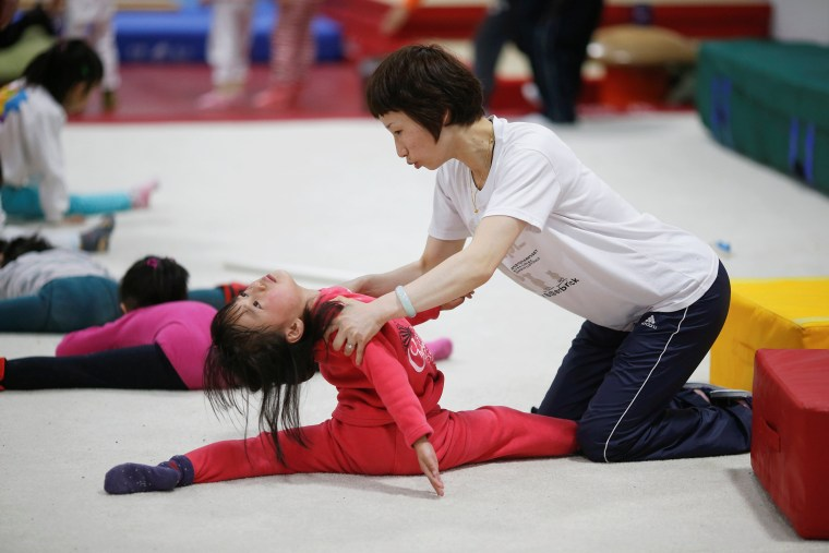 Image: The Wider Image: China's Olympic schools