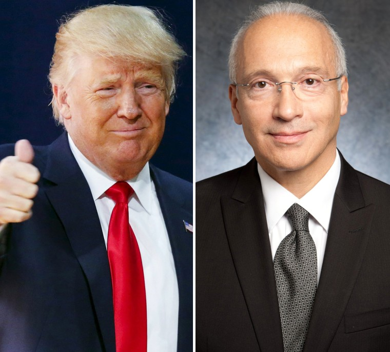 Image: Trump and Judge Gonzalo Curiel