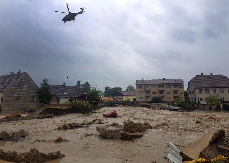 Image: Floods in Bayern, Germany