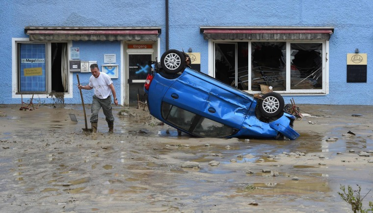 Image: GERMANY-FRANCE-FLOOD-WEATHER