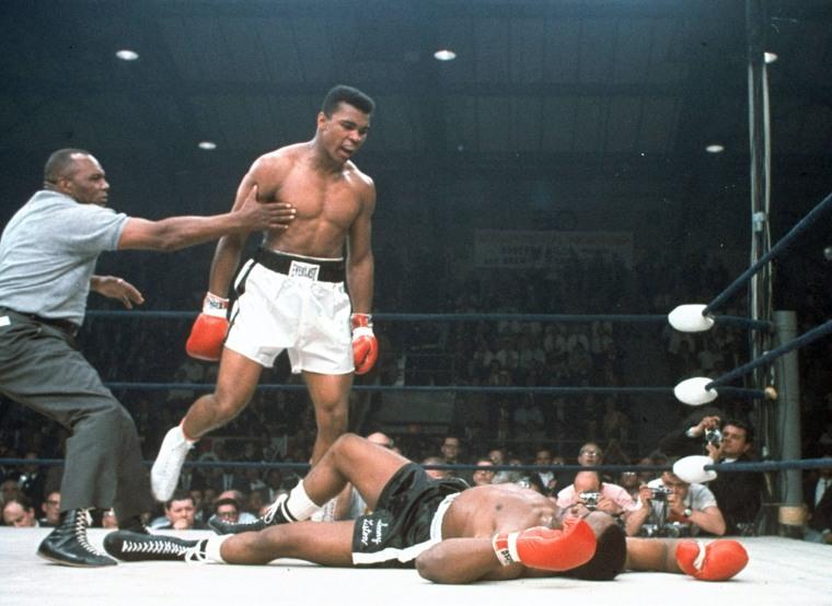 Muhammad Ali; Sony Liston