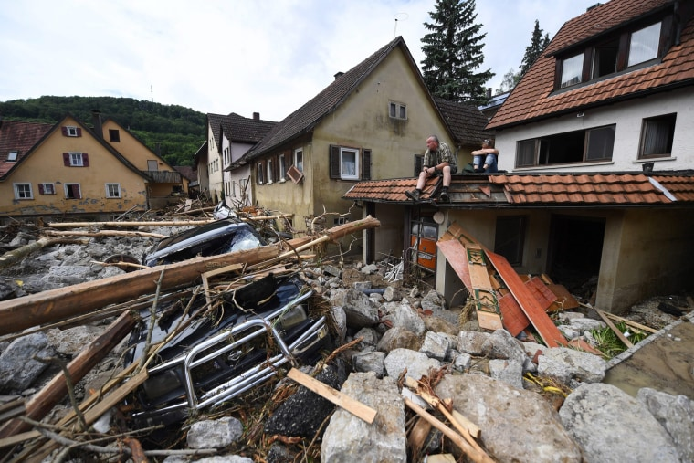 Image: Severe weather in southern Germany causes floods