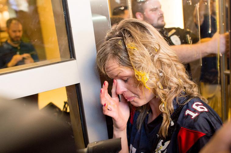 Image: Donald Trump protest