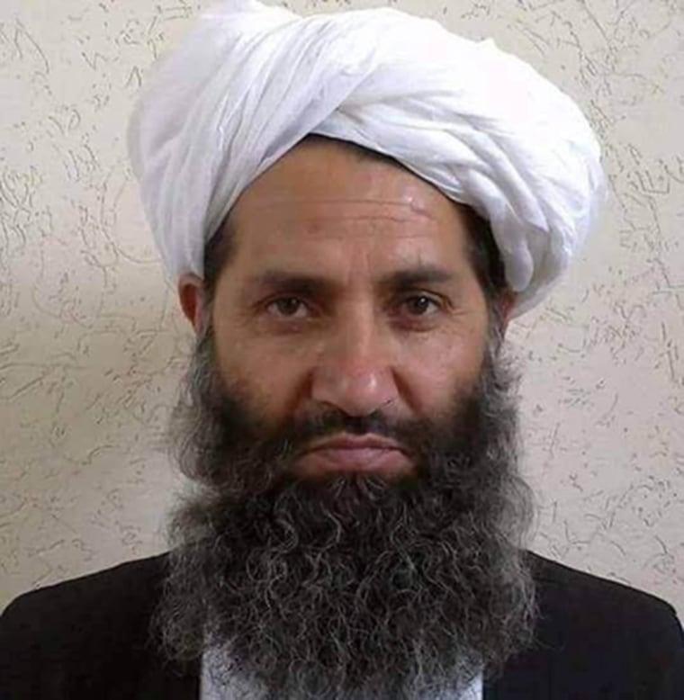 Image: Taliban new leader Mullah Haibatullah Akhundzada