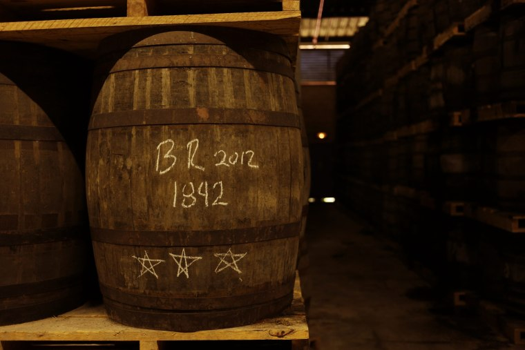Inside A Havana Club Rum Factory