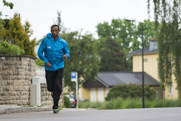 Image: Refugee Athlete Yonas Kinde