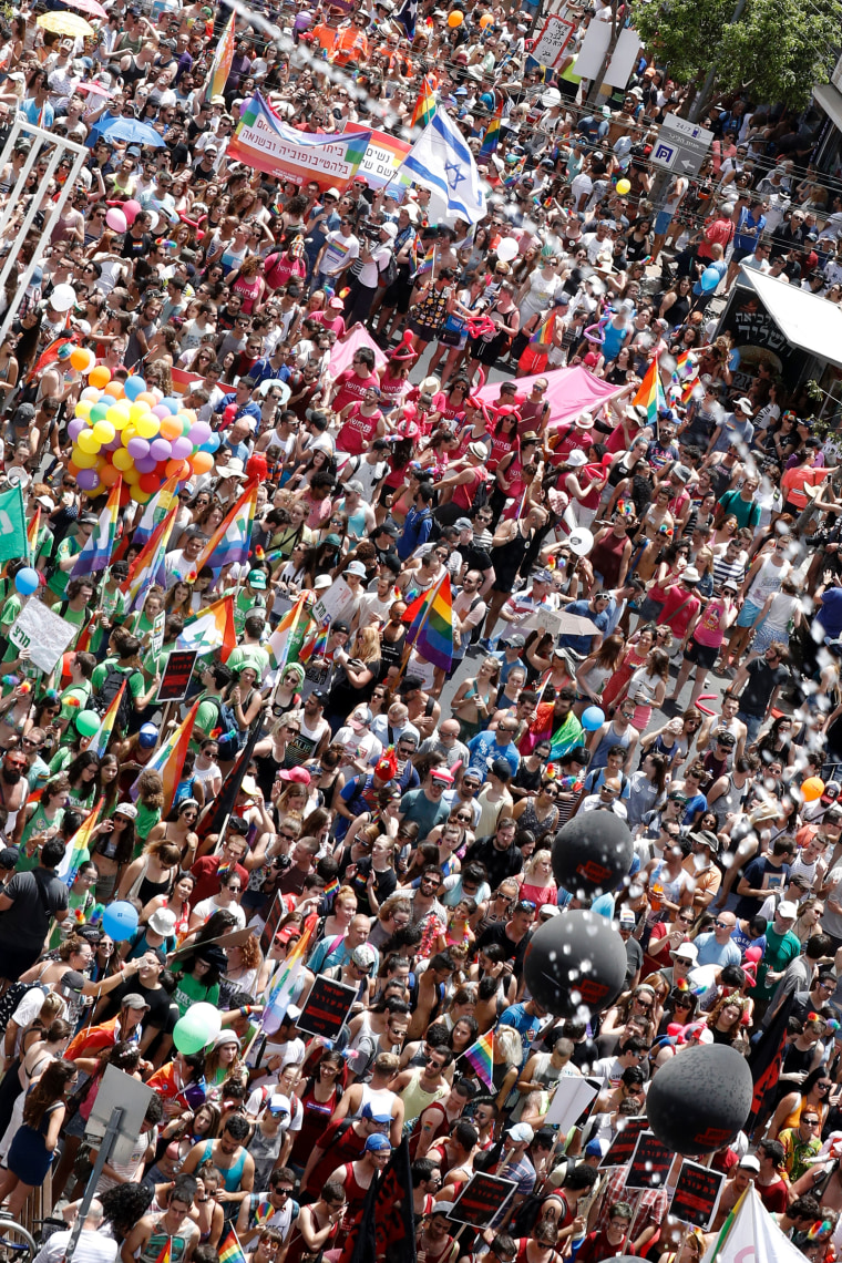 On June 3, 2016, tens of thousands took part in Tel Aviv's Gay Pride celebration, deemed one of the largest in the world.