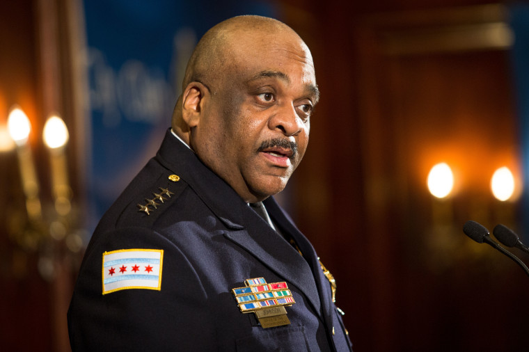 IMAGE: Chicago Police Supt. Eddie Johnson