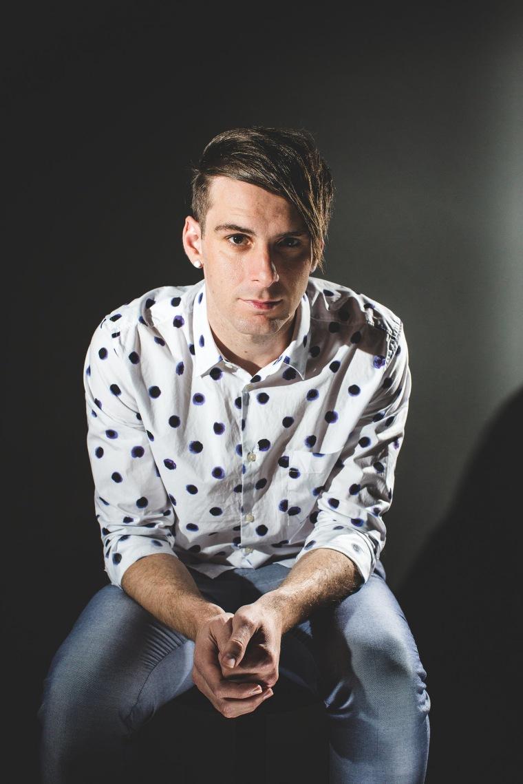 Trey Pearson, lead singer of Christian rock band Everyday Sunday.