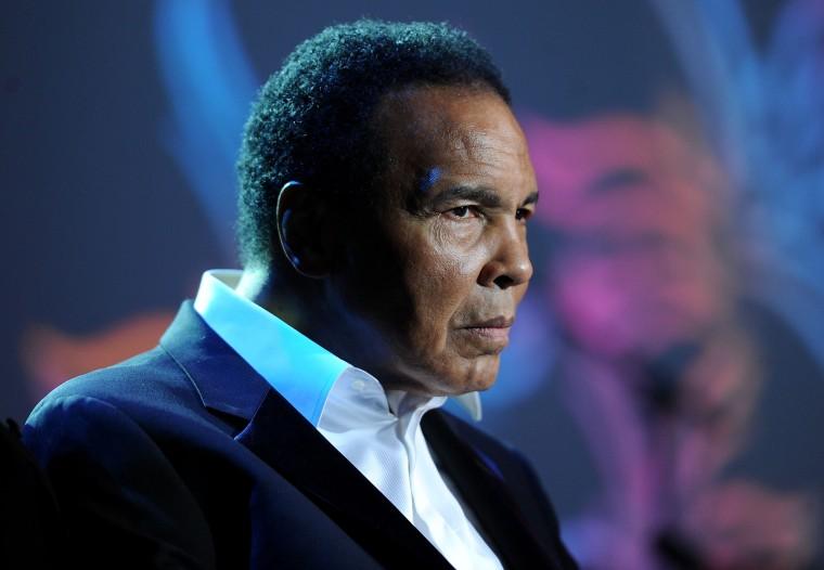 Image: Muhammad Ali in 2010