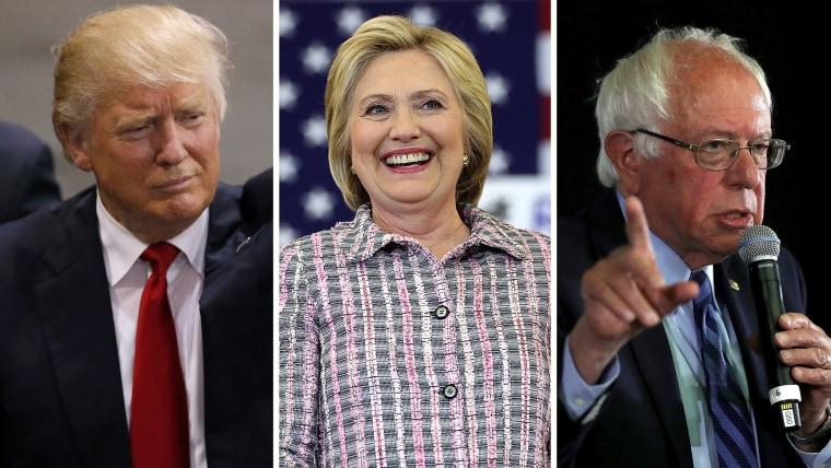 Donald Trump/Hilary Clinton/Bernie Sanders