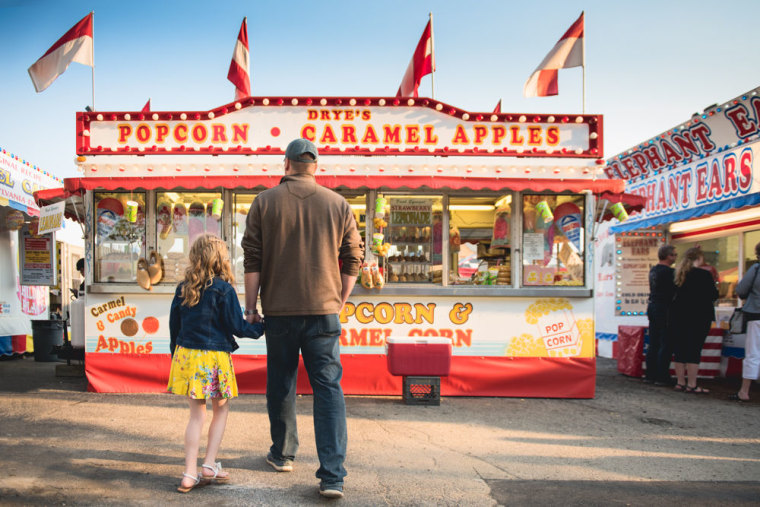 """Wilkerson suggests picking a """"sub-story"""" to tell in crowded summer situations like the fair."""