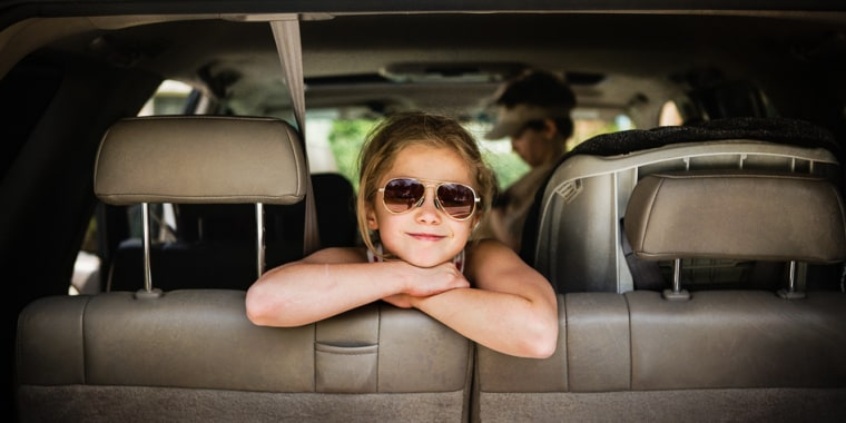 Wyatt says a fun way to document your kids' summer adventures is to pay attention to their reactions, such as their excitement to embark on a road trip.