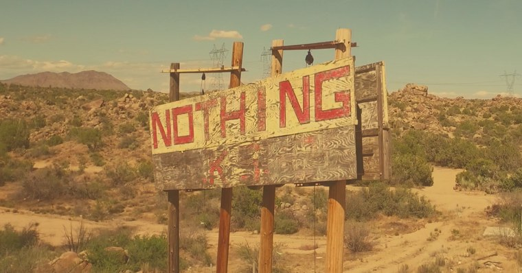Between now and June 19 at 11:59 p.m., kids can log onto the Give Dad Nothing website, and receive a free, 24-hour license - valid only on Father's Day - to a parcel of land in Nothing, Arizona, a deserted town located approximately 140 miles northwest of Phoenix.