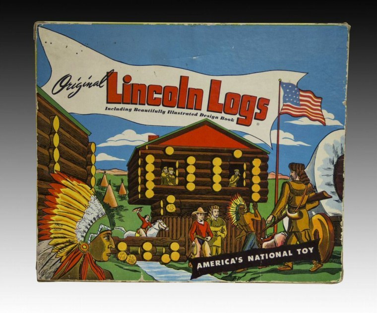 1910- Lincoln Logs