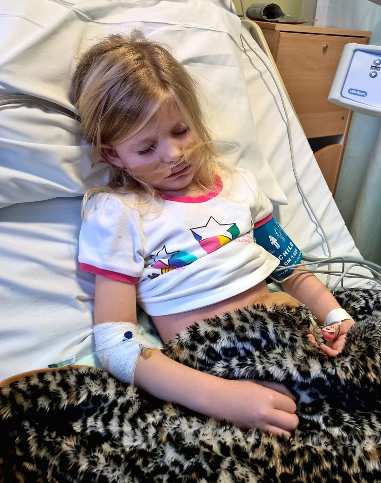 After a sudden illness, 5-year-old Elizabeth Spencer passed away from hemophagocytic lymphohistiocytosis. Her mom is walking 6,000 miles to honor her daughter and raise money for the Bristol Children's Hospital.