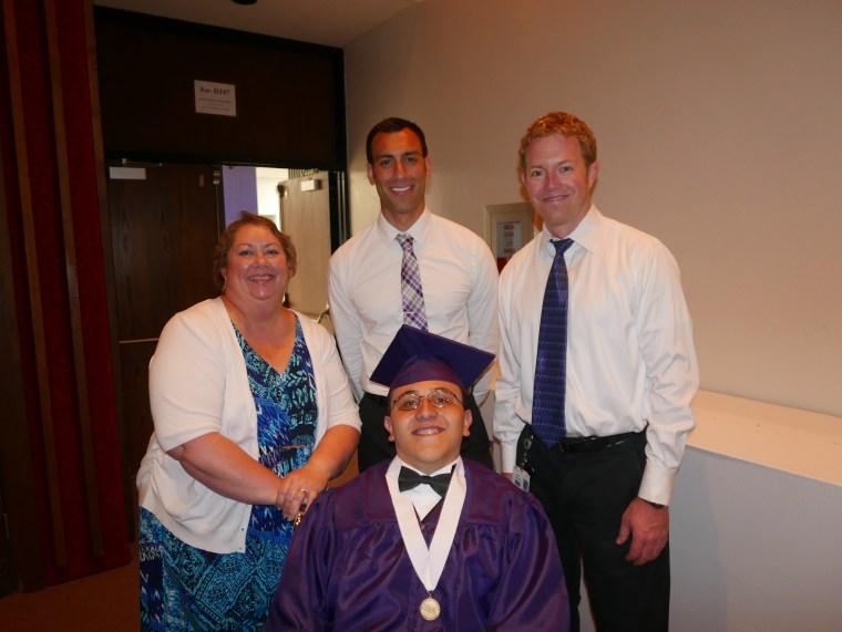 fernando graduation walk