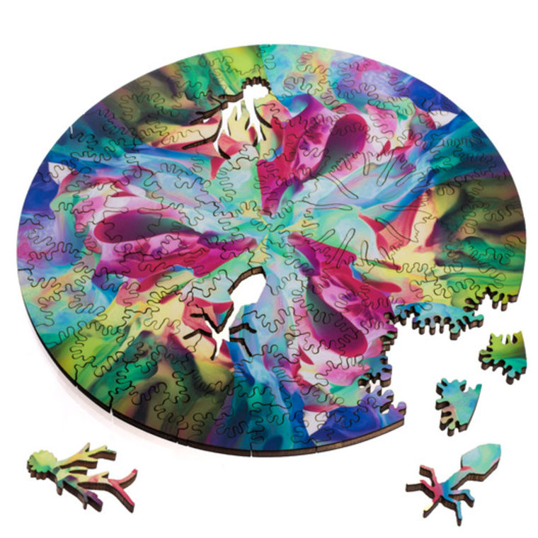 Radial puzzles