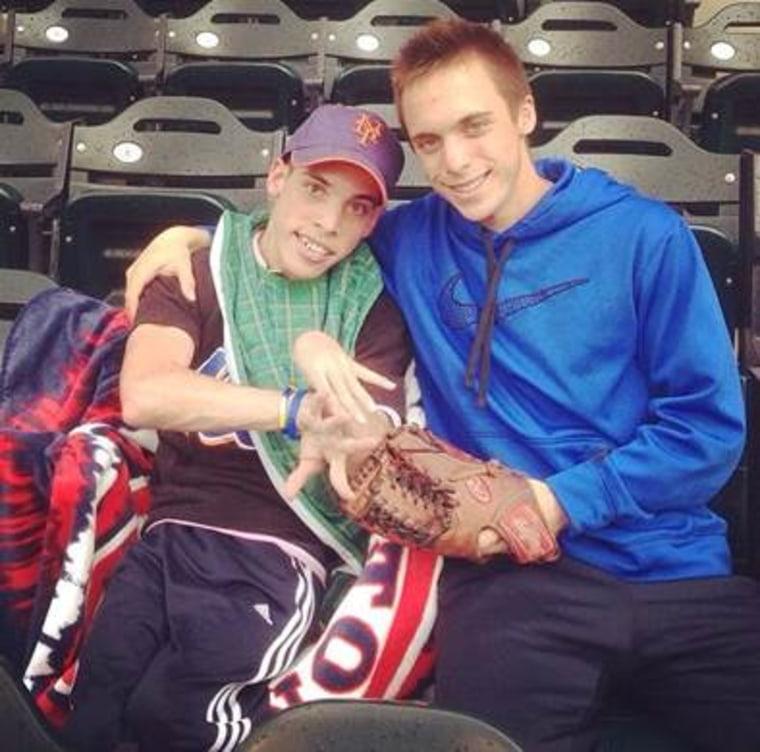 John and Joe Tardiff, twins who have bonded over baseball
