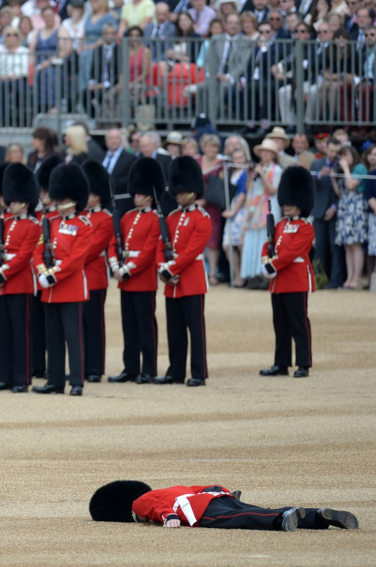 BRITAIN-ROYALS-BIRTHDAY-TROOPING
