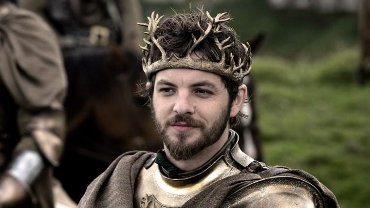 Renly Baratheon played by Gethin Anthony
