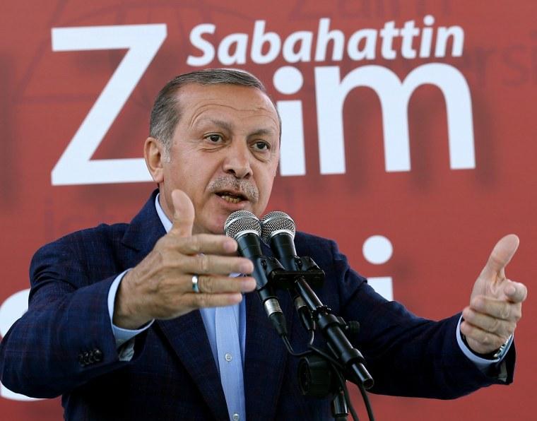 Turkey's President Erdogan Calls Women Who Work 'Half Persons'