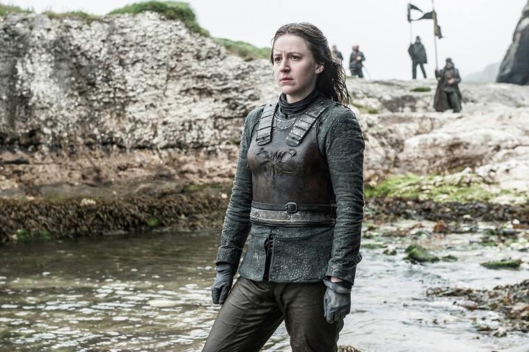 Yara Greyjoy played by Gemma Whelan
