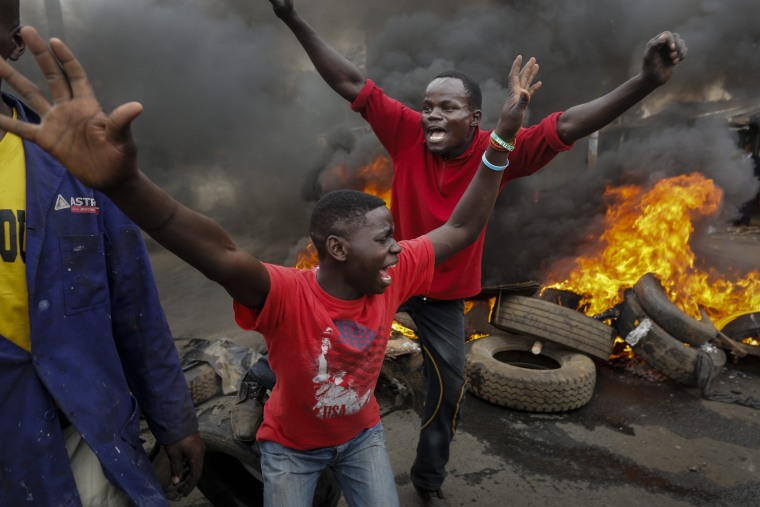 Image: Two killed in a Kenyan protest