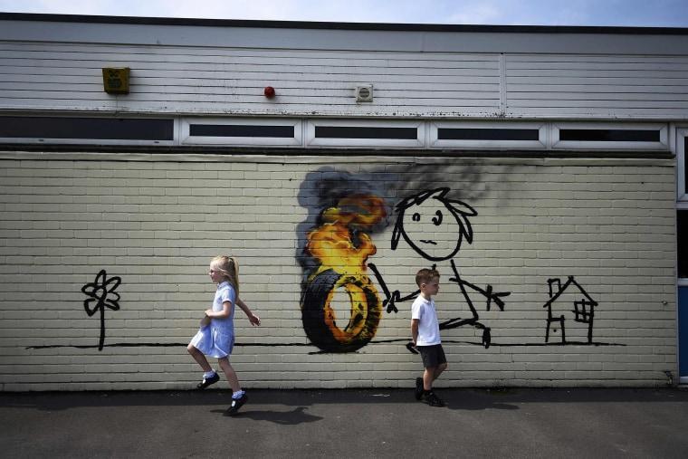 Image: Banksy in Bristol