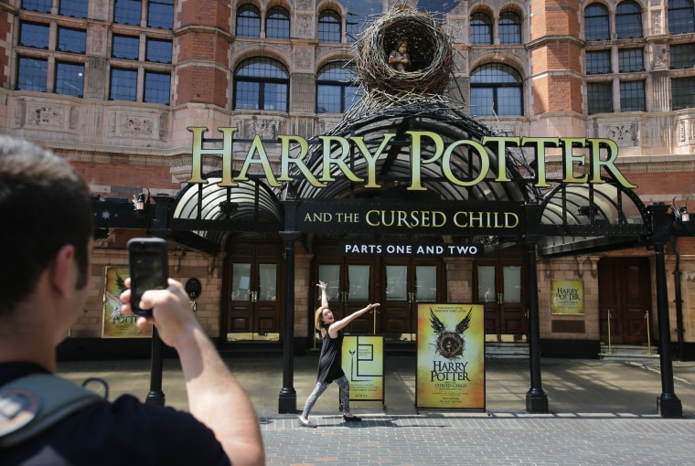 Image: 'Harry Potter and the Cursed Child' opens at London's Palace Theater Tuesday.