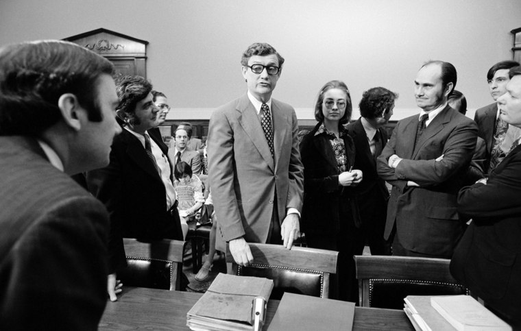 Hillary Clinton & John Doar Bring Impeachment Charges Against Nixon