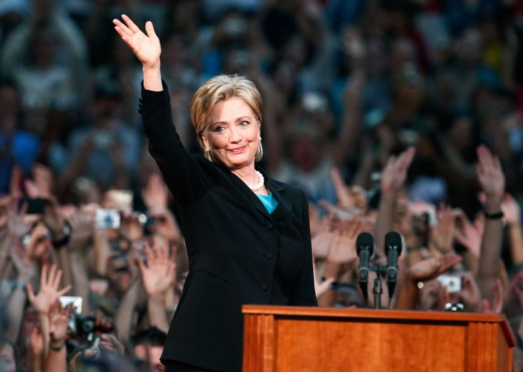 Hillary Clinton Concedes Primary Election Campaign To Barack Obama