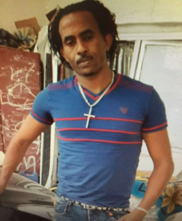 Mered Medhanie, a 35-year-old Eritrean, was apprehended on May 24.
