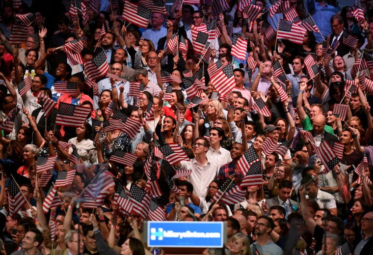 Image: US-VOTE-DEMOCRATS-HILLARY