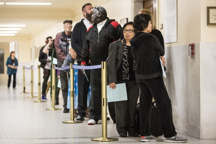 Image: California Voters Go To The Polls In State Primary