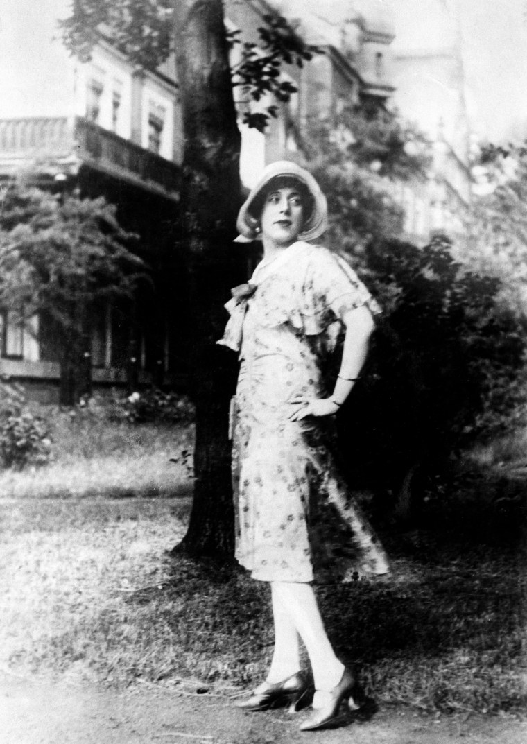 LILI ELBE (1886-1931). The first known recipient of sexual reassignment surgery.
