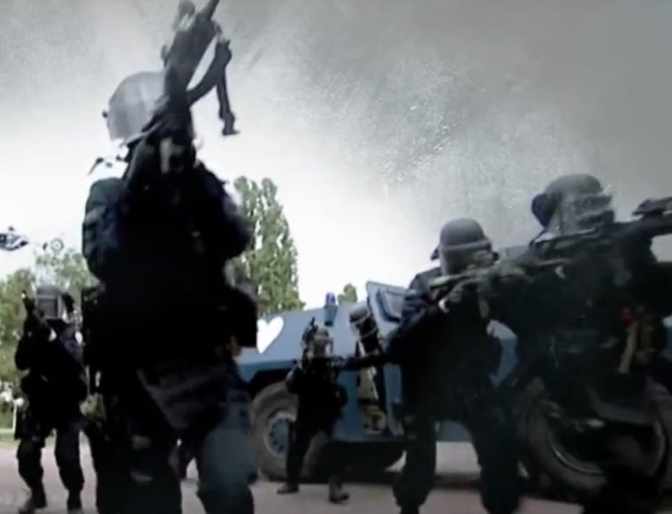 IMAGE: French GIGN forces