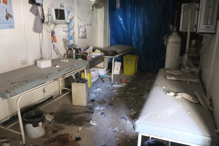 Image: Al-Bayan clinic in Aleppo, Syria