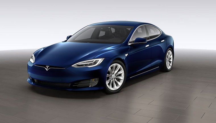 Image: Tesla rear-wheel drive Model S 60