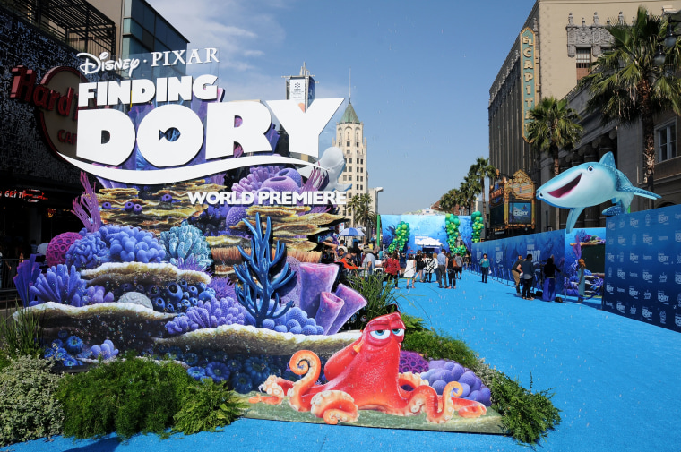 A general view of atmosphere at the world premiere of Disney-Pixar's 'Finding Dory' at the El Capitan Theatre on June 8, 2016 in Hollywood, California.