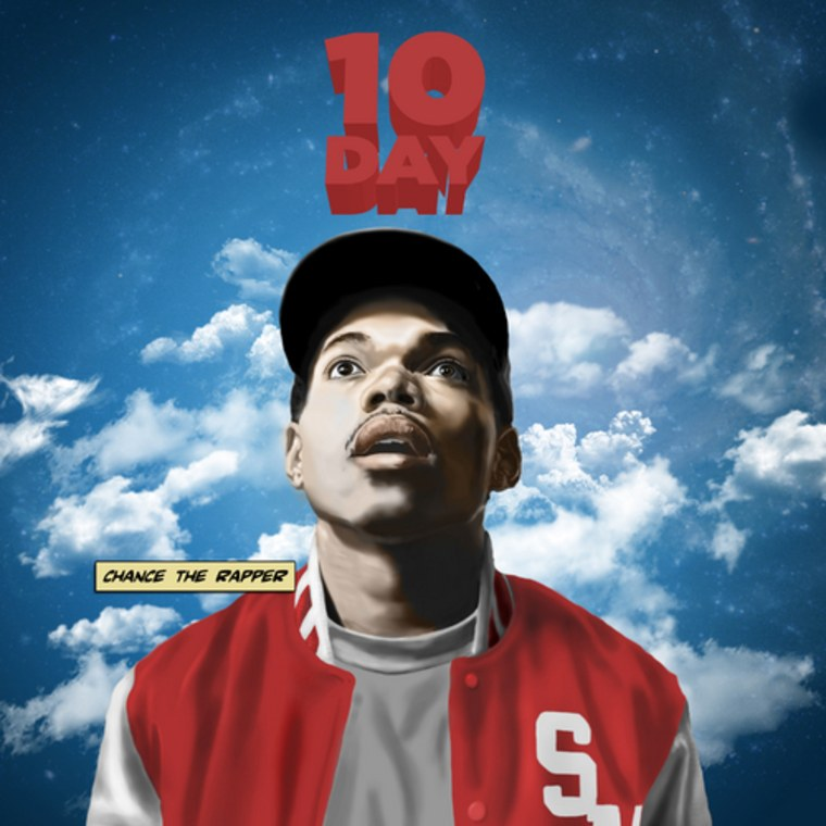 """Missing you"" is track two on Chance The Rapper's debut mixtape ""10 Day."""