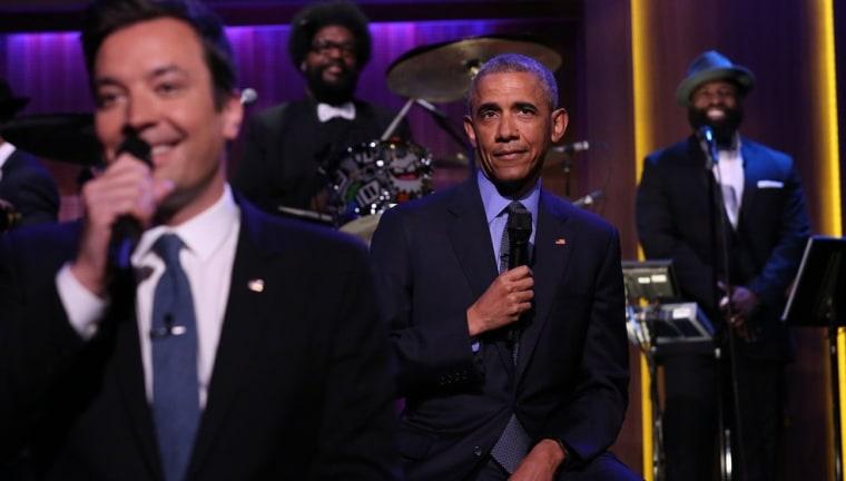 IMAGE: Obama and Jimmy Fallon