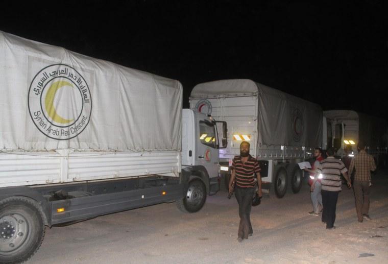 Image: SYRIA-CONFLICT-AID-DARAYA