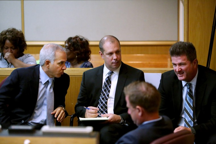 Image: Lawyers for jocks on trial