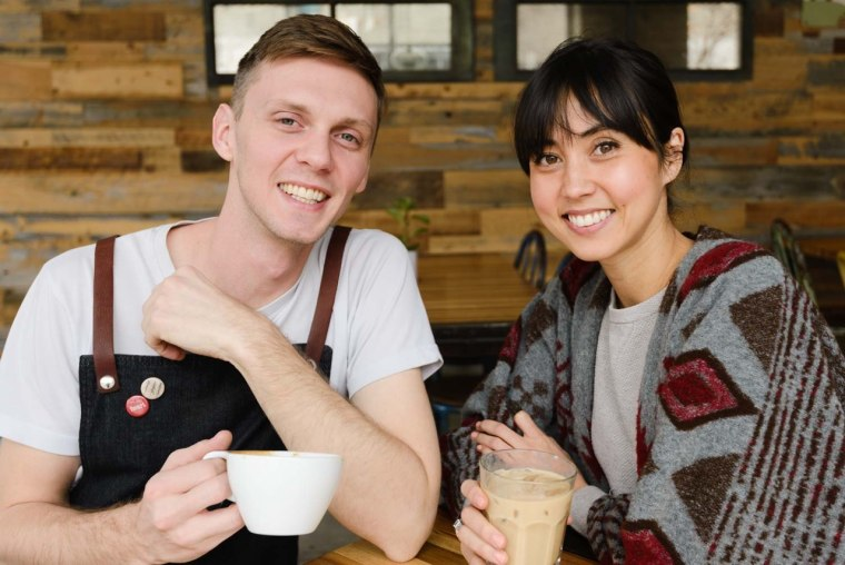 Nick Price and Meg Frampton of Three Pines Coffee